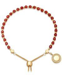 Astley Clarke - Red Agate Cosmos Kula Bracelet - Lyst