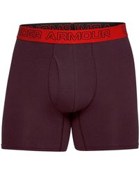 Under Armour - Charged Cotton 6in 3pk Trunk - Lyst
