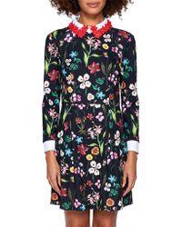 Ted Baker - Tillena Hampton Collar Dress - Lyst