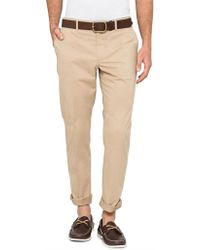 PS by Paul Smith - Cotton Elastane Mid Fit Chino - Lyst