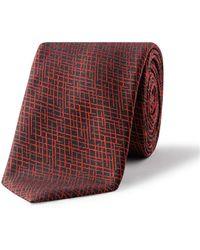 BOSS - 6cm Graph Diamond Jaq Silk Tie - Lyst