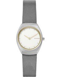 Skagen - Asta Silver Watch - Lyst