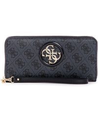 Guess - Open Road Slg Large Zip Around Wallet - Lyst