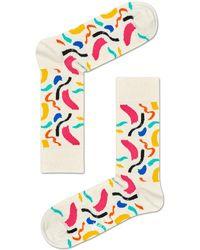 Happy Socks - Brush Stroke Sock - Lyst