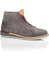 Ted Baker - Suede Chucka Boot With Wedge Sole - Lyst