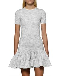 BY JOHNNY. - Blurred Lines Frill Mini Dress - Lyst