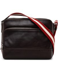 Bally - Tau Leather Reporter's Bag - Lyst