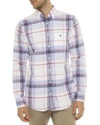 Gant | Madras Plaid Reg Shirt | Lyst