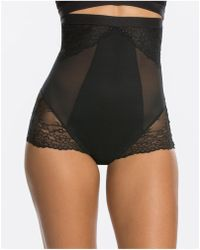 Spanx - Lace Collection High Wasited Brief - Lyst