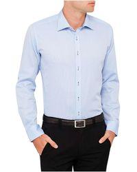 Geoffrey Beene - Hill Honeycomb Body Fit Shirt - Lyst