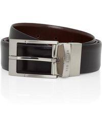 Ted Baker - Dress Reversable Belt - Lyst