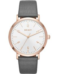 DKNY - Extensions Grey Watch - Lyst