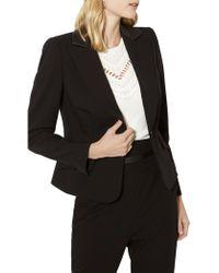 Karen Millen | Tailored Boxy Blazer | Lyst