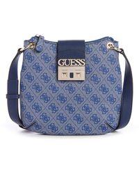 Guess - Logo Luxe Tourist Bag - Lyst