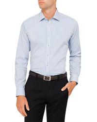 Geoffrey Beene - Squaw Valley Stretch Stripe Body Fit Shirt - Lyst