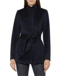 Reiss | Reema-belted Jacket | Lyst