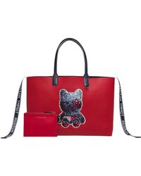 Tommy Hilfiger - Iconic Tommy Tote Mascot - Lyst