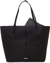 Rebecca Minkoff - Medium Unlined Tote With Whipstitch - Lyst