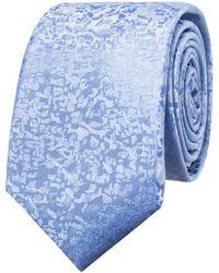 Ben Sherman - Mottled Geoemetric Tie - Lyst