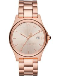 Marc By Marc Jacobs - Henry Rose Gold Watch - Lyst