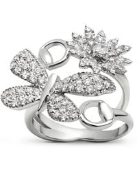 Gucci - Flora Collection Ring - Lyst