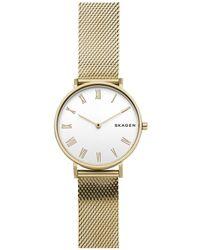 Skagen - Hald Gold Watch - Lyst