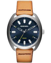 DIESEL - Fastbak Brown Watch - Lyst