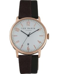 Ted Baker - Daniel - Grey/rose Gold - Lyst