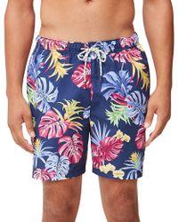 Tommy Bahama - Naples Bogart Blooms 6-inch Swim Trunks - Lyst