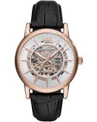 Emporio Armani - Men's Black Watch - Lyst