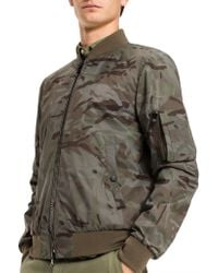 Tommy Hilfiger - Camo Bomber - Lyst