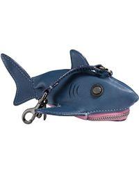 COACH - Sharky Coin Case - Lyst