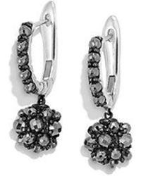 David Yurman - Osetra Short Drop Earrings With Hematine - Lyst