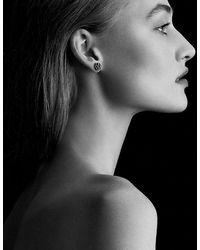 David Yurman - Osetra Stud Earrings With Garnet And Amethyst, 10mm - Lyst