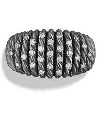 David Yurman - Tempo Ring With Diamonds - Lyst