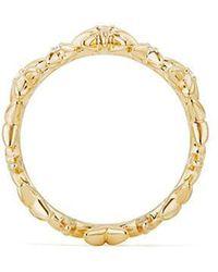David Yurman - Starburst Constellation Ring In 18k Gold With Diamonds - Lyst