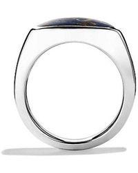 David Yurman - Exotic Stone Signet Ring With Pietersite - Lyst