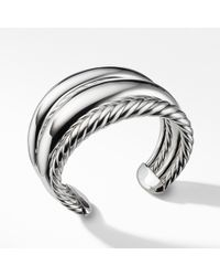 David Yurman - Pure Form Four Row Cuff, 42mm - Lyst