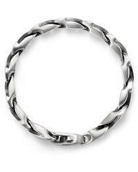 David Yurman - Graphic Cable Curb Link Bracelet, 9mm - Lyst
