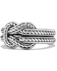 David Yurman - Maritime Reef Knot Band Ring - Lyst