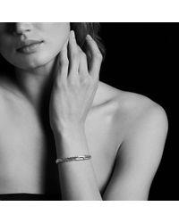 David Yurman - Petite Pavé Mini Loop Bracelet With Diamonds - Lyst