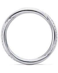 David Yurman - Dy Lanai Pavé Wedding Band With Diamonds In Platinum - Lyst
