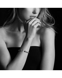David Yurman - Cable Classics Bracelet With Hematine And Diamonds, 5mm - Lyst