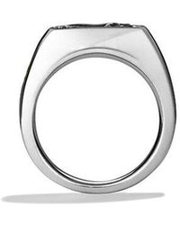 David Yurman - Petrvs Horse Signet Ring With An Accent Of 22k Gold - Lyst
