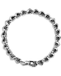 David Yurman - Armory Single Row Link Bracelet - Lyst
