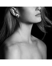 David Yurman - Helena Small Hoop Earrings With Diamonds And 18k Gold - Lyst