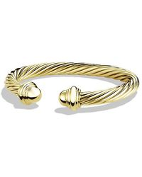 David Yurman - Cable Classics Bracelet In 18k Gold, 7mm - Lyst
