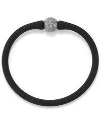 David Yurman - Spiritual Beads Stone Rubber Bracelet With Meteorite - Lyst