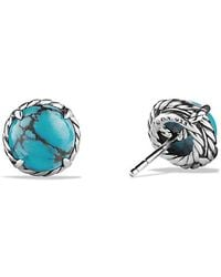 David Yurman - Châtelaine® Earrings With Turquoise - Lyst