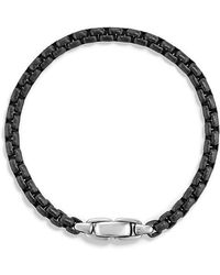 David Yurman - Box Chain Bracelet,5mm - Lyst